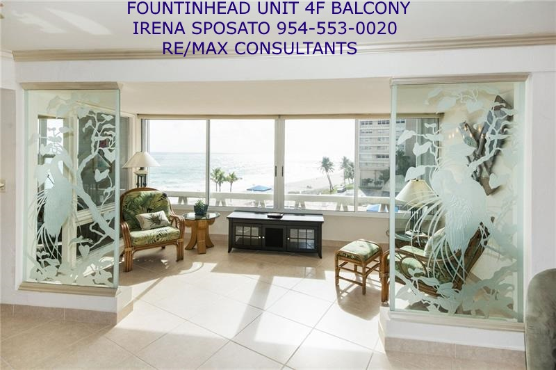 Fountainhead unit 4F Balcony