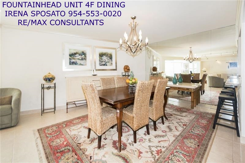 Fountainhead unit 4F Dining Photo