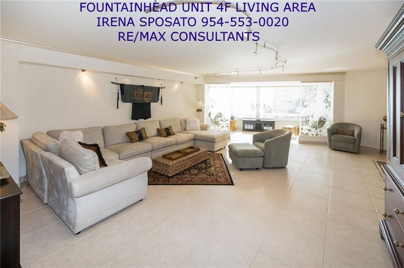 Fountainhead unit 4F Living Area Photo