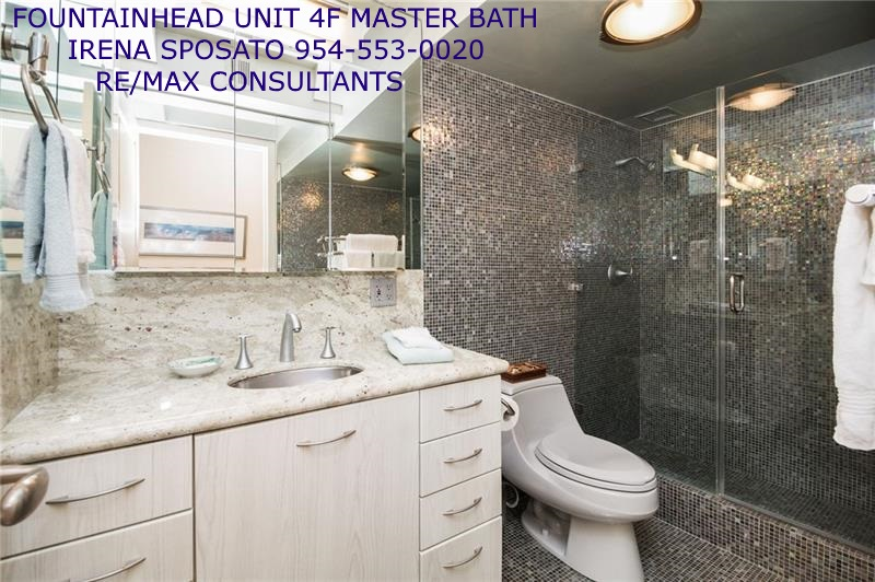 Fountainhead unit 4F Master Bath