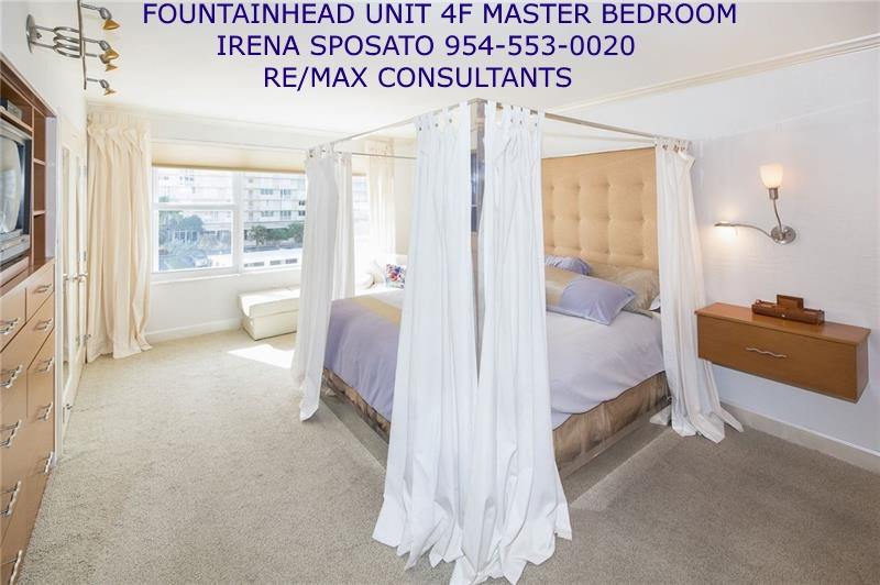 Fountainhead unit 4F Master Bedroom