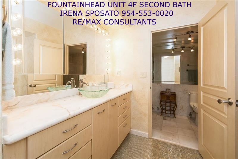 Fountainhead unit 4F Second Bath