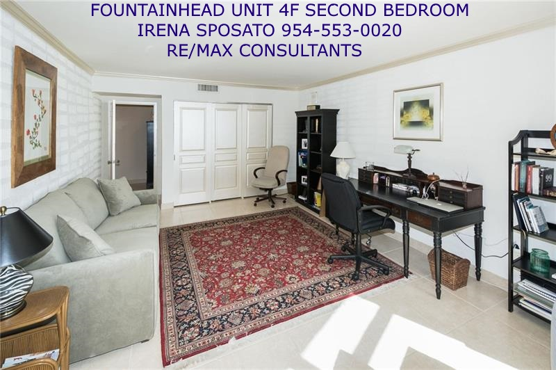 Fountainhead unit 4F Second Bedroom